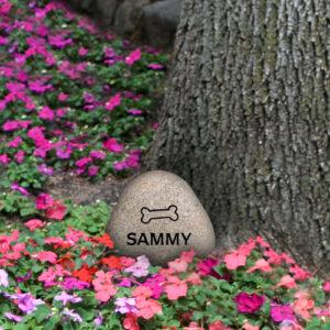 pet memorial stones