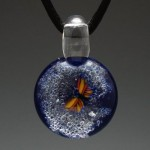 Pet Ashes In Blown Glass