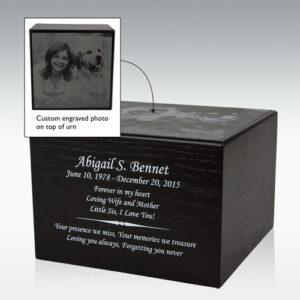 laser engraved pet urns