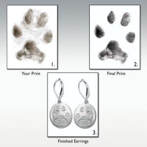 Custom Paw Print Jewelry