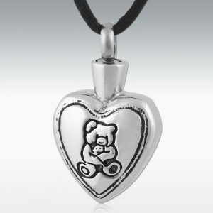 Teddy Bear Cremation Jewelry