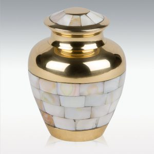 Mother Pearl Urn For Ashes