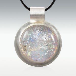 Dichroic Glass Memory Pendant Jewelry